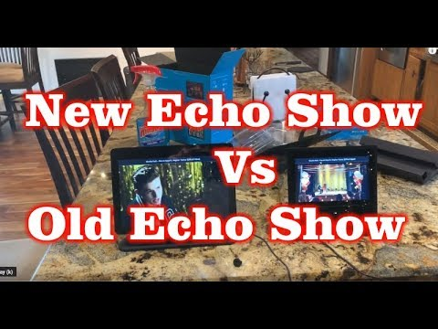 New Amazon Echo Show (2-Gen) vs Old Echo Show (1st-Gen)