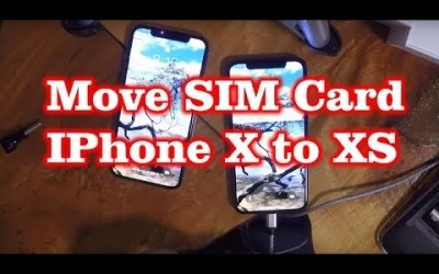 How to Move SIM from Iphone X to XS – SIM Card Swap