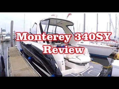 Monterey 340SY 2013 Sport Yacht Walk thru / Review