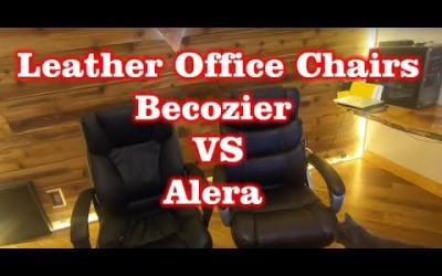 Becozier Executive Office Chair VS Alera Chair + Building Chair & Review