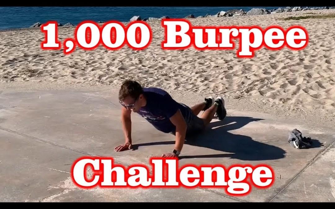 1,000 Burpee Challenge in 30 Days