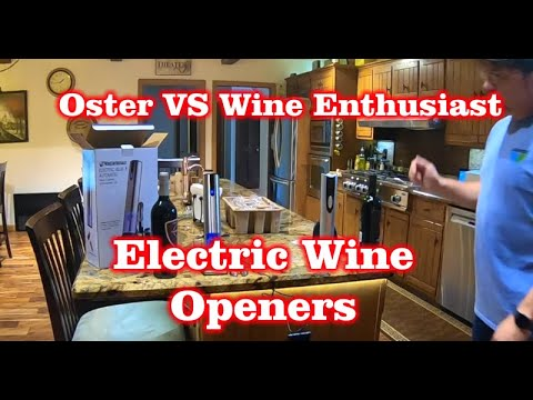Oster Vs Wine Enthusiast – Amazon Electric Wine Opener Comparison