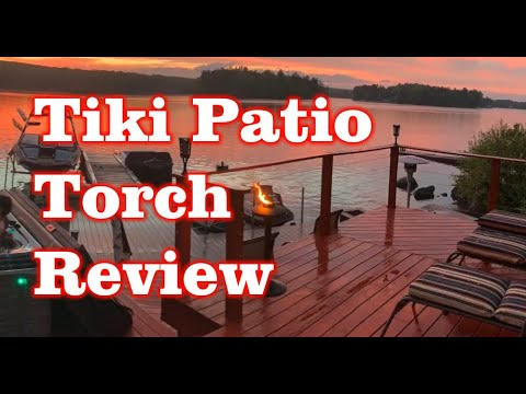 Tiki Brand Patio Torch -28 Inchs Double Wick from Amazon – Review