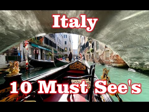 First time to Italy – 10 Must See's!