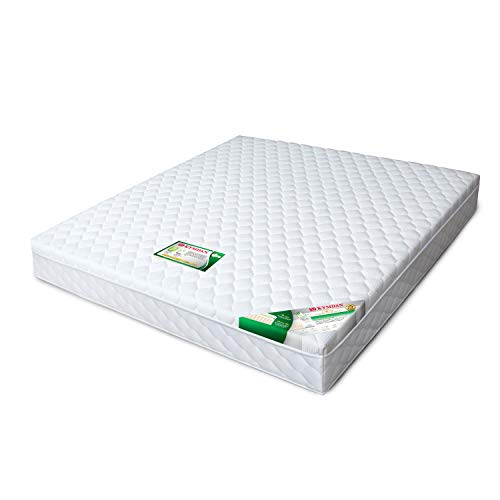 KYMDAN Special Deluxe Pillow Top Natural Latex Mattress, 02-Layered Structure, 15-Year Warranty (California King, 10″ Thick)