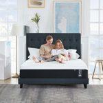 Yosiyo Home Hotel High Density Support Gel Mattress Soft 2-Layer Foam Mattress 10 inch King Size