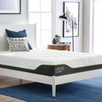 LUCID 10 Inch Twin XL Hybrid Mattress – Bamboo Charcoal and Aloe Vera Infused Memory Foam & 10 Inch Twin XL Latex Hybrid Mattress – Cooling Gel Memory Foam – Responsive Latex Layer – Adaptable
