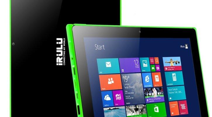 iRULU Walknbook 10.1 Inch Hybrid Laptop 2-In-1 Tablet