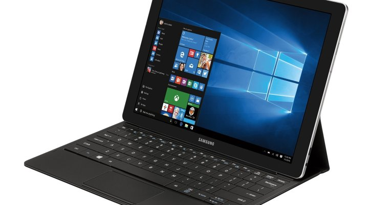 Samsung Galaxy TabPro S 12 inch Tablet (Black), Microsoft Windows 10 Home, 2.2 GHz Intel Core m3 Processor, 4GB RAM and 128GB solid state drive