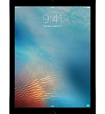 iPad Pro 9.7 inch 256GB, Wi-Fi, Space Gray, 9.7 inch Retina Display, 2048x1536 Resolution, Wide Color and True Tone Display, Apple iOS 9, 12MP iSight Camera, 2016 Model