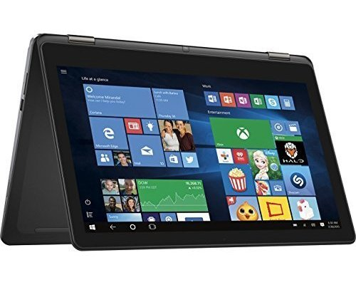 Dell Inspiron 15 7000 i7568 15.6 inch 2-in-1 Convertible Tablet Laptop, Full HD (1920x1080) Touchscreen LED Display, Intel Core i5-6200U Processor, 8GB RAM, 500GB, Backlit Keyboard, Windows 10 Professional