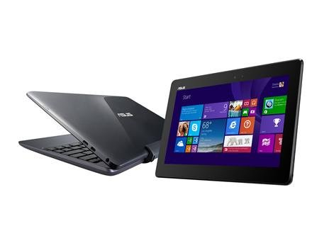 ASUS Transformer 10.1-inch Detachable Touchscreen 2-in-1 Laptop or Tablet with Office 2013 Student and Home Full Edition - Intel Atom, 2GB DDR3L, 64GB eMMC, IPS HD (1366 x 768) Display, Windows 8.1