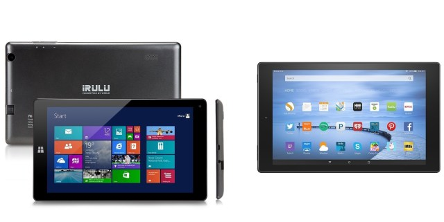 Windows Tablet and Android Tablet