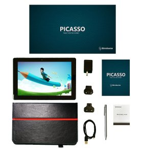 Simbans PicassoTab 10.1 inch Android Tablet and 3 Bonus items