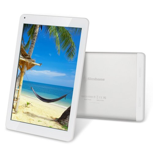 Simbans Presto 10 inch Android Tablet, 32GB, Google Android 6 Marshmallow 10.1 inch IPS screen, Quad Core, HDMI, 1GB, Tablet PC, 2M + 5M Camera, GPS WiFi USB Bluetooth