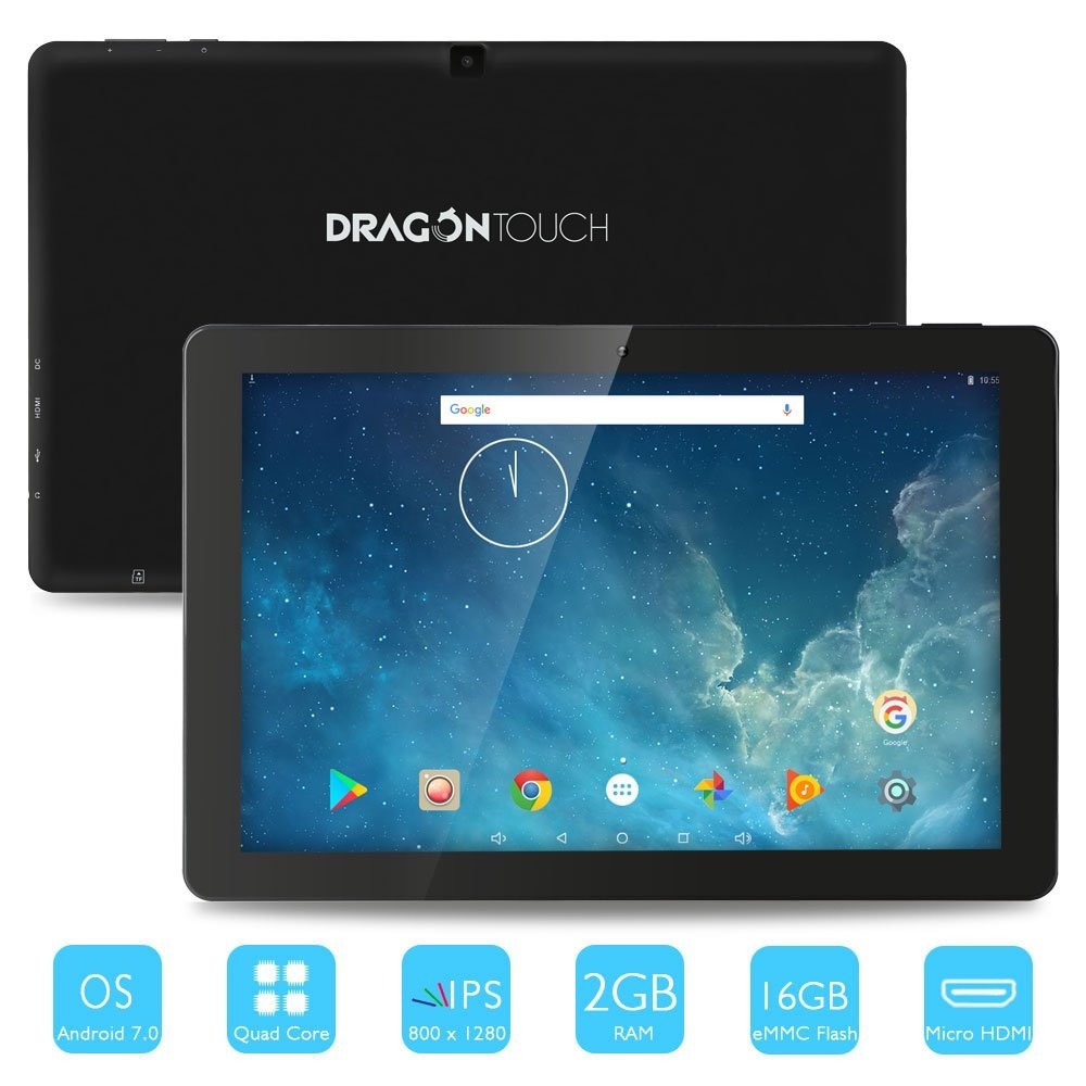Dragon Touch X10, 10 1 Inch Android Tablet - Best Reviews Tablet