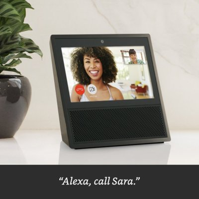 Echo Show - Black, takes you everything you love about Alexa