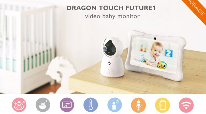 UPGRADED Dragon Touch FUTURE 1 Video Baby Monitor