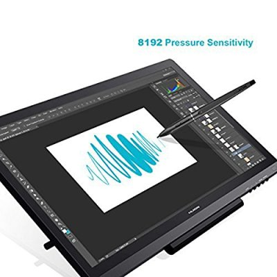 Huion Drawing Tablet KAMVAS GT-191, 19.5 Inch with HD Screen 8192 Pressure Sensitivity