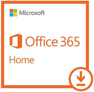 Microsoft Office 365 Home, 1 Year Subscription, with Auto-renewal, 2-5 users