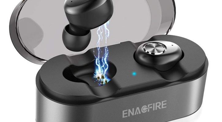 ENACFIRE E18 Wireless Earbuds, Latest Bluetooth 5.0 True Wireless Bluetooth Earbuds