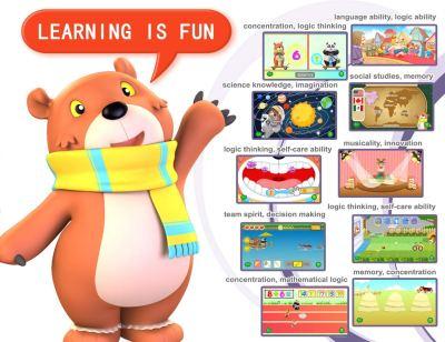 B.B.PAW 7-inch Kids Tablet, Ram 1GB, 8GB Storage, Google Android 6.0