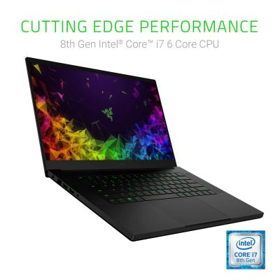 Razer Blade 15 Gaming Laptop World's Smallest 15.6-inch, 60Hz Full HD Thin Bezel