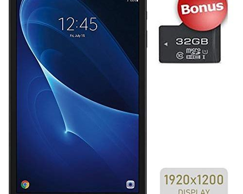 Samsung Galaxy Tab A 10.1-inch Touchscreen (1920x1200) WiFi Tablet, Octa-Core