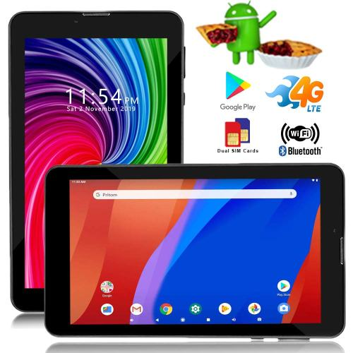 inDigi 4G LTE GSM Unlocked 7-inch Tablet, Android 9 Pie OS