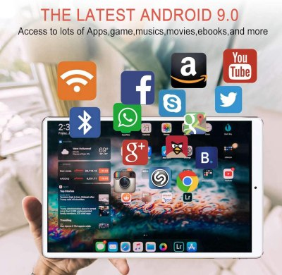 JINHENG 2-in-1 Tablet 10-inch Phone Tablet PC
