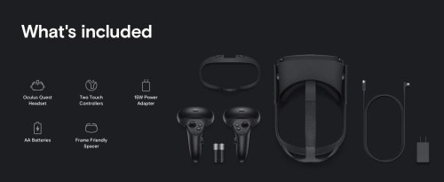 Newest Oculus Quest All-in-one VR Gaming Headset 64GB