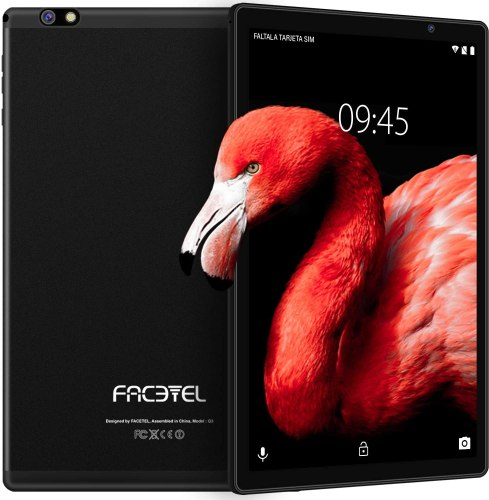 Facetel Q3 Pro 10-inch Android Tablet, Octa-Core Processor