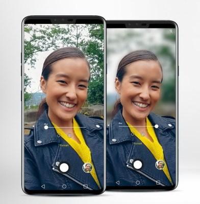 LG V40 ThinQ LMV405UA 64GB Aurora Black, 6.4-inch