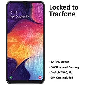 Tracfone Samsung Galaxy A50 4G LTE Prepaid Smartphone (Locked)