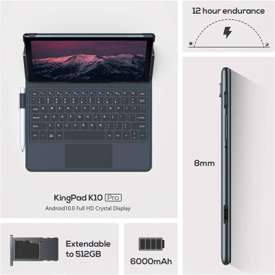 VASTKING KingPad K10 Pro 10.1-inch Octa-Core