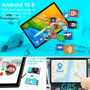 DUODUOGO 10-inch 4G LTE Tablet, Dual SIM, Android 10