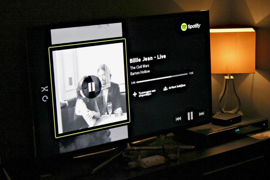 Spotify op mijn tv
