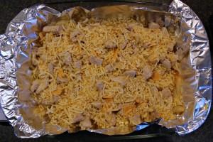 Stap 5 Zelf kapsalon maken kaas strooien