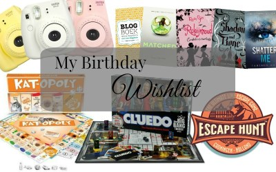 My Birthday Wishlist