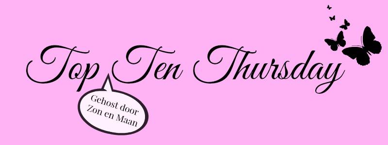 Top Ten Thursday banner