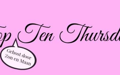 TTT | Top 10 boeken die van mij verfilmd mogen worden
