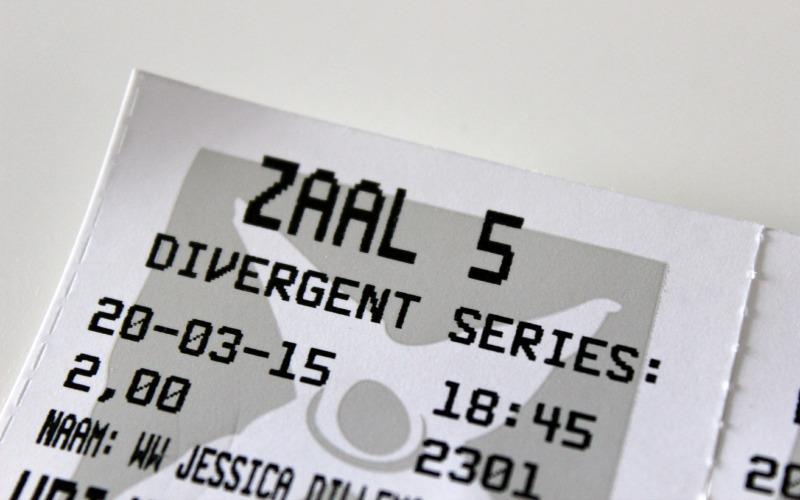 Insurgent Bioscoop kaartje
