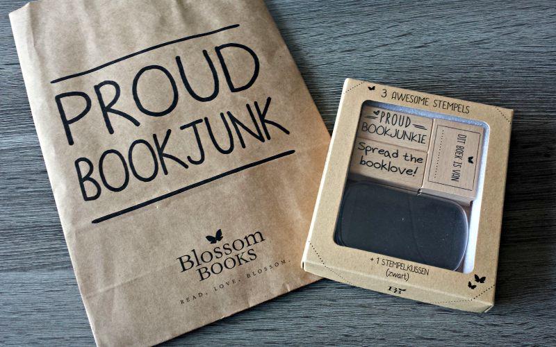 Blossom Books stempels Proud Bookjunk