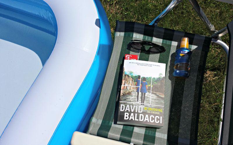 Zwembad met David Baldacci