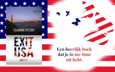 Boekrecensie | Exit USA – Suzanne Peters