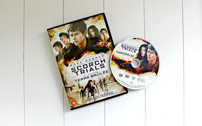 DVD Maze Runner The Scorch Trials