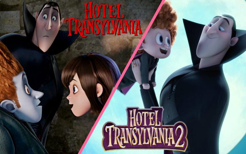 Hotel Transylvania 1 en 2