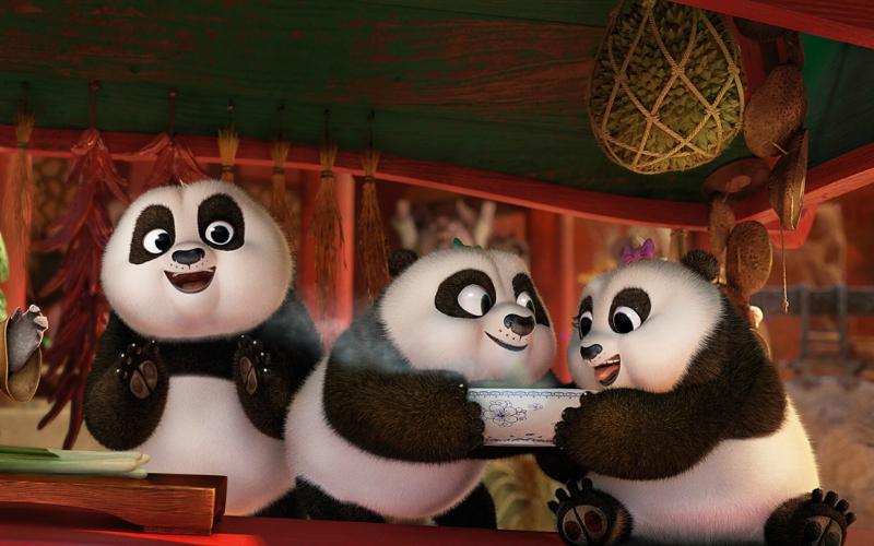 Kung Fu Panda 3 still