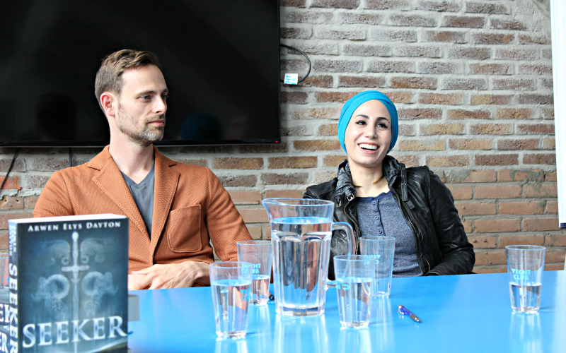 Yalfest Persconferentie - Ransom Riggs, Tahereh Mafi