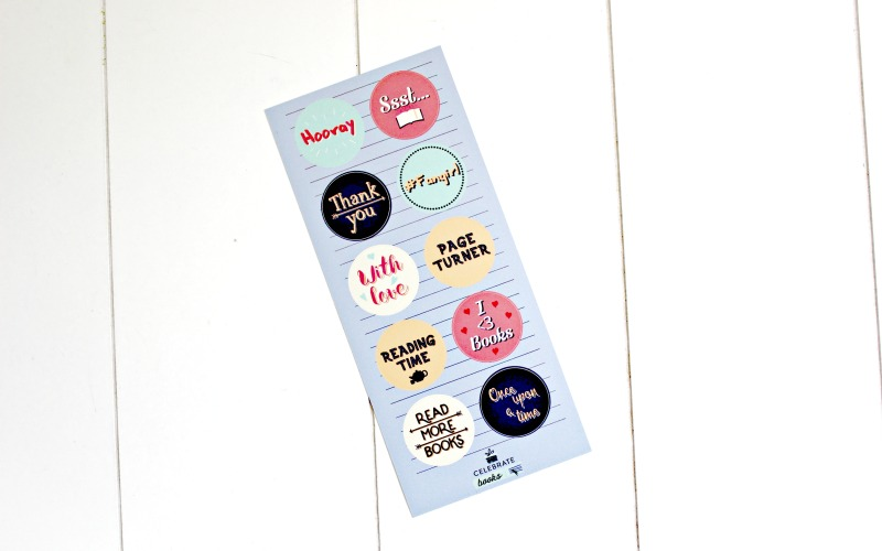 Celebrate Books stickers